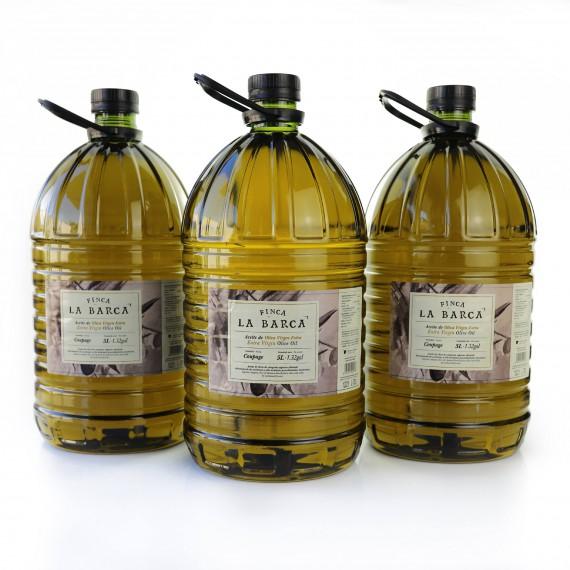 Aceite de Oliva Virgen Extra garrafa 5 litros - Caja 3 garrafas