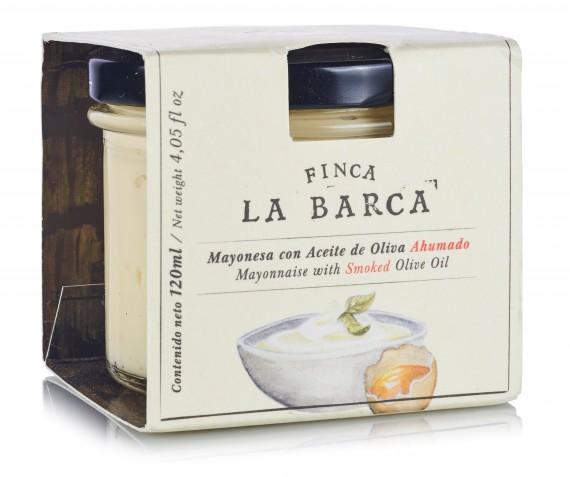 Mayonesa con Aceite de Oliva Ahumado tarro 120 ml