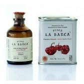PACK Regalo Aceite de Oliva Ahumado Botella 50 ml y Pimentón de La Vera Dulce 70g