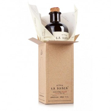Smoked Olive Oil Bottle 500 ml - Gift Box