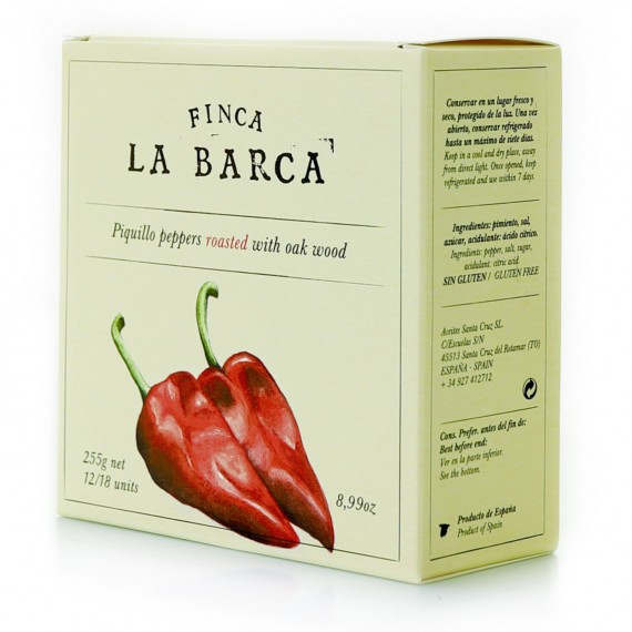 Piquillo peppers roasted with oak wood 255g