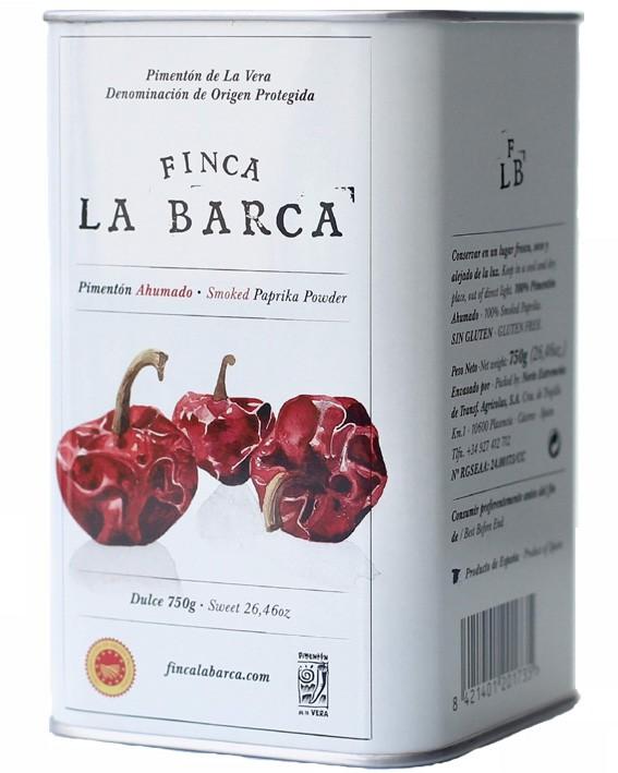 Pimentón de La Vera Lata Dulce 750g